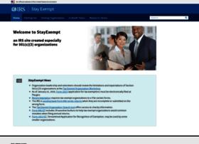 stayexempt.irs.gov