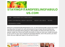 stayingfitandfeelingfabulous.com