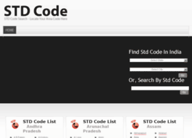 stdcode.org.in