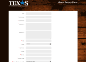 Steakhousesurvey.com