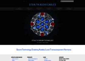 stealthaudiocables.com