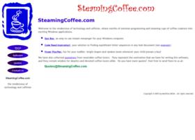 steamingcoffee.com
