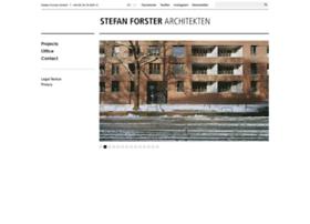 stefan-forster-architekten.de