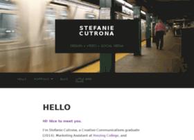 stefaniecutrona.com