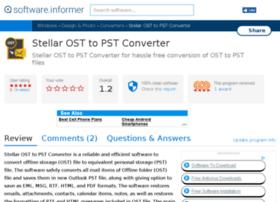 stellar-ost-to-pst-converter.software.informer.com