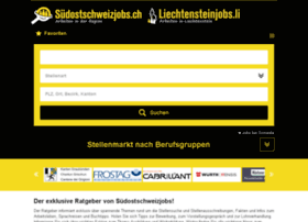 stellen.suedostschweiz.ch