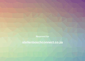 stellenboschconnect.co.za