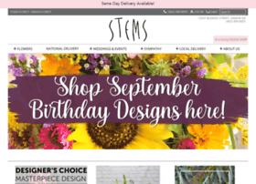 stemsflorist.com