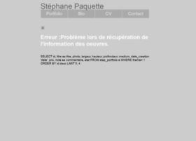 stephanepaquette.com