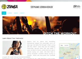 stephanielebrun.zumba.com
