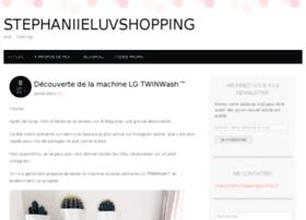 stephaniieluvshopping.com