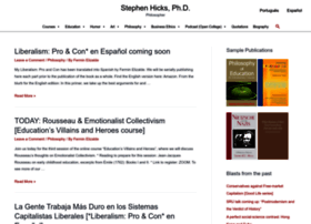 stephenhicks.org
