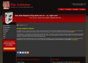 stephenkingcollector.com