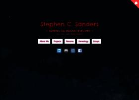 stephensanders.me