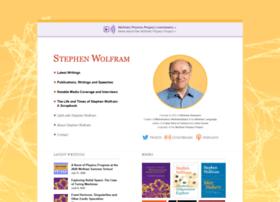 stephenwolfram.com