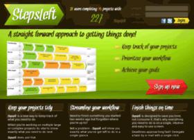 stepsleft.com