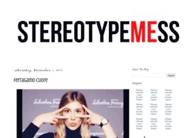 stereotypemess.com
