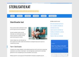 sterilisatiekat.com
