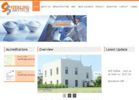 sterlingbiopharma.com