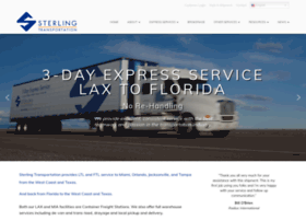 sterlingtransportation.com
