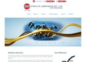 sterlitelubricants.com