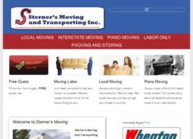 sternersmoving.com