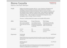 steve.loyola.net