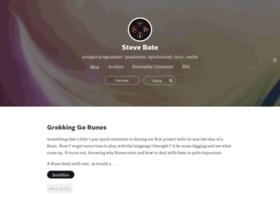 stevebate.silvrback.com
