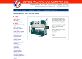 stevensmachinetools.co.uk