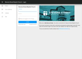 stevensstreet.ccbchurch.com