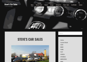 stevescarsales.co.uk