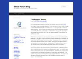 stevewalshblog.co.uk