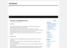 stick2basic.wordpress.com