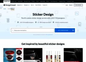 sticker.designcrowd.co.in