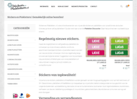 stickersenplakletters.nl
