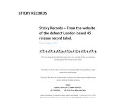 stickyrecords.org