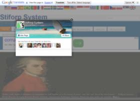 stiforpsystem.com