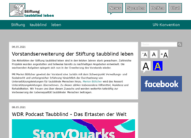 stiftung-taubblind-leben.de