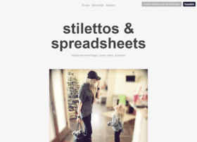 stilettos-and-spreadsheets.tumblr.com
