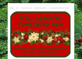 stilllearningsomethingnew.com