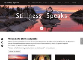 stillnessspeaks.com