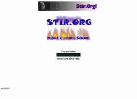 stir.org