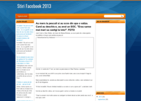 stirifacebook2013.blogspot.ro