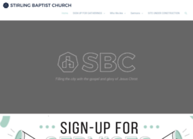 stirlingbaptist.com