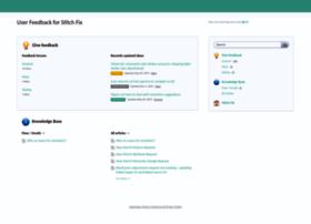 stitchfix.uservoice.com