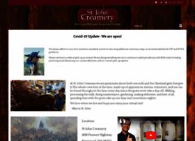 stjohncreamery.com