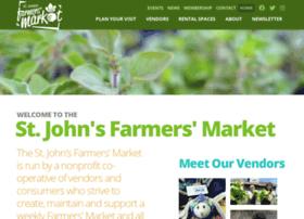 Stjohnsfarmersmarket.org