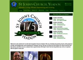 stjohnsyeadon.org