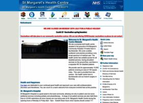 stmargaretshealthcentre.co.uk
