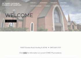 stmaryhuntley.org